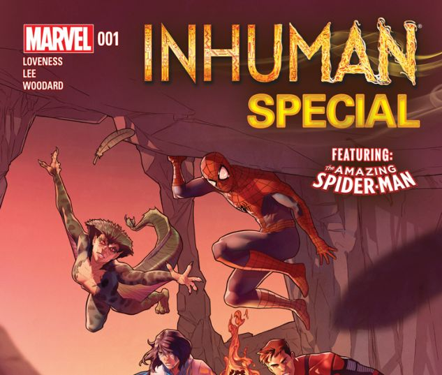 INHUMAN SPECIAL 1 (WITH DIGITAL CODE)