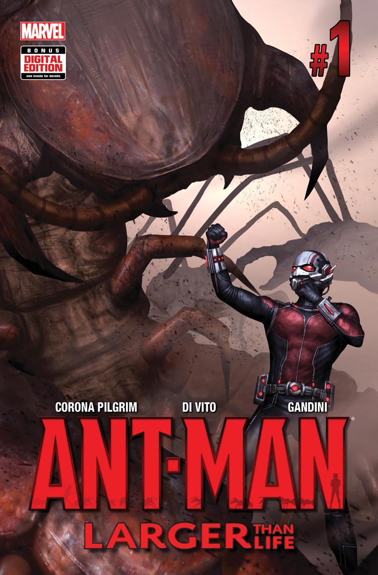 ANT-MAN: LARGER THAN LIFE 1 (2015) #1