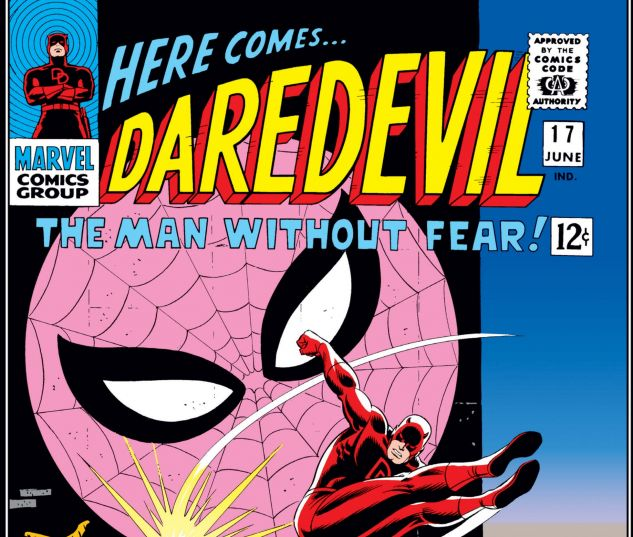 DAREDEVIL (1964) #17 Cover