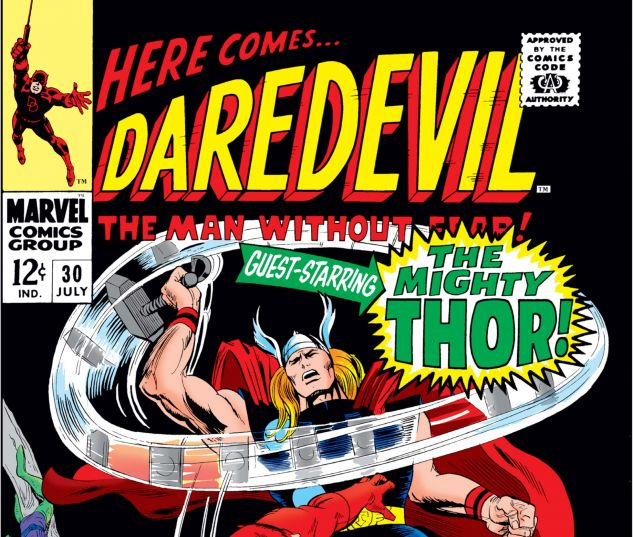 DAREDEVIL (1964) #30 Cover