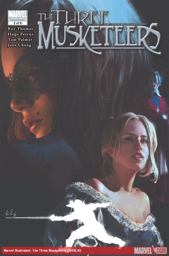 Marvel Illustrated: The Three Musketeers (2008) #2