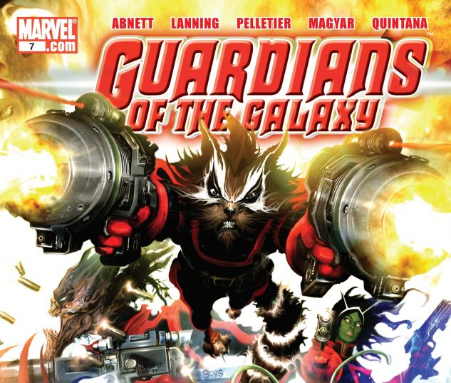 Guardians of the Galaxy (2008) #7