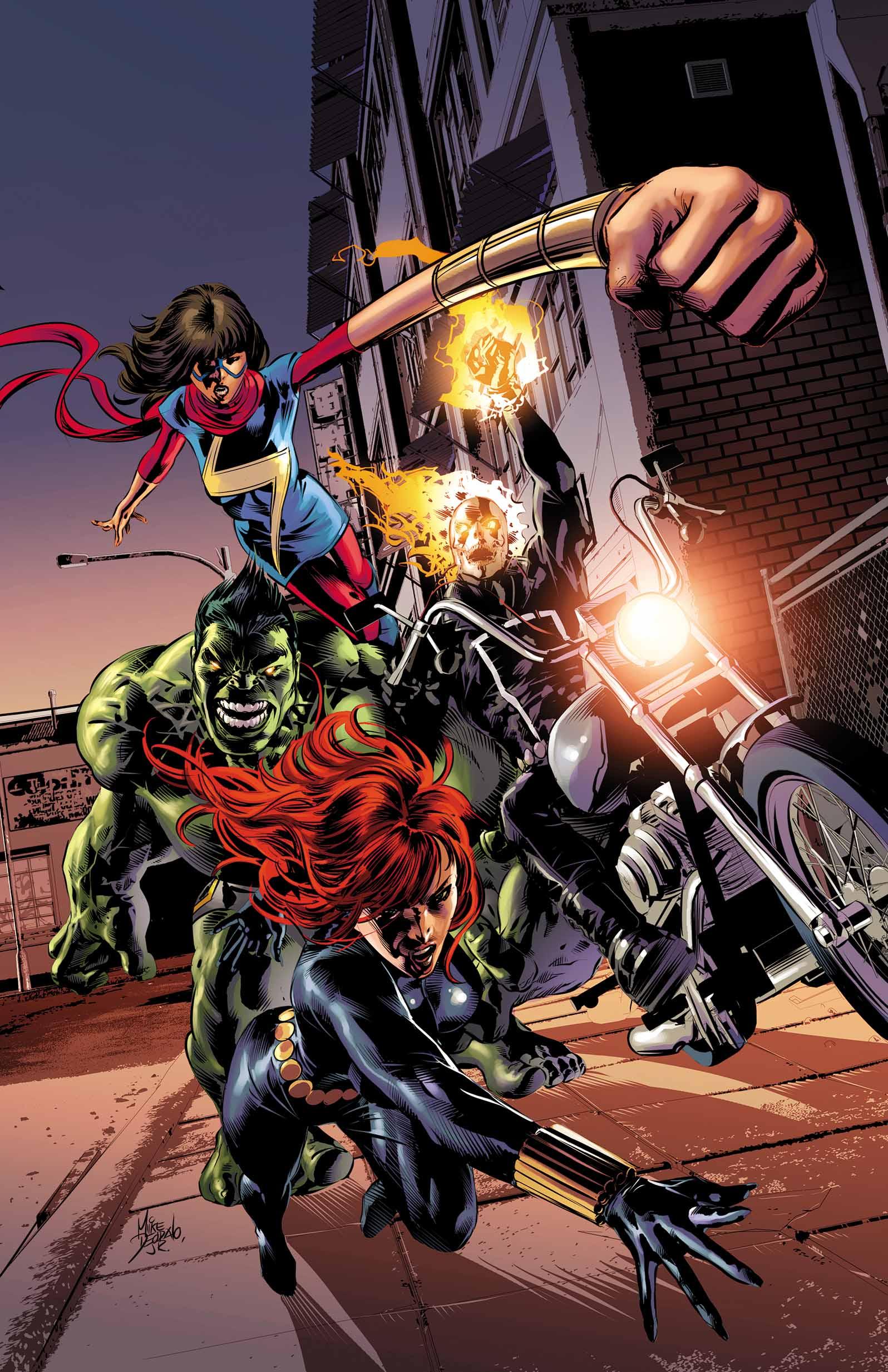 Captain America: Sam Wilson (2015) #14 (Deodato Champions Variant)