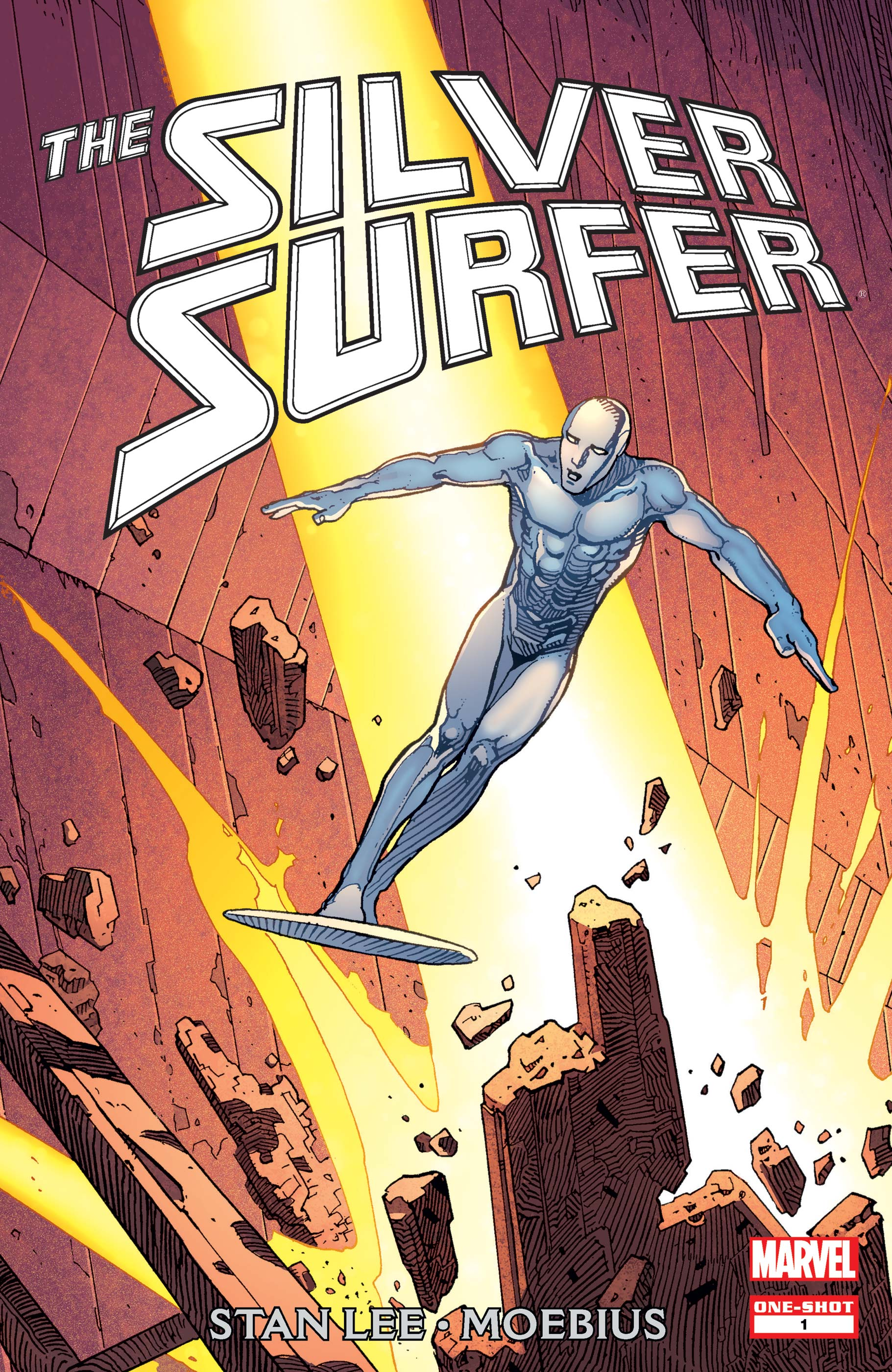 Silver Surfer by Stan Lee & Moebius (2013) #1