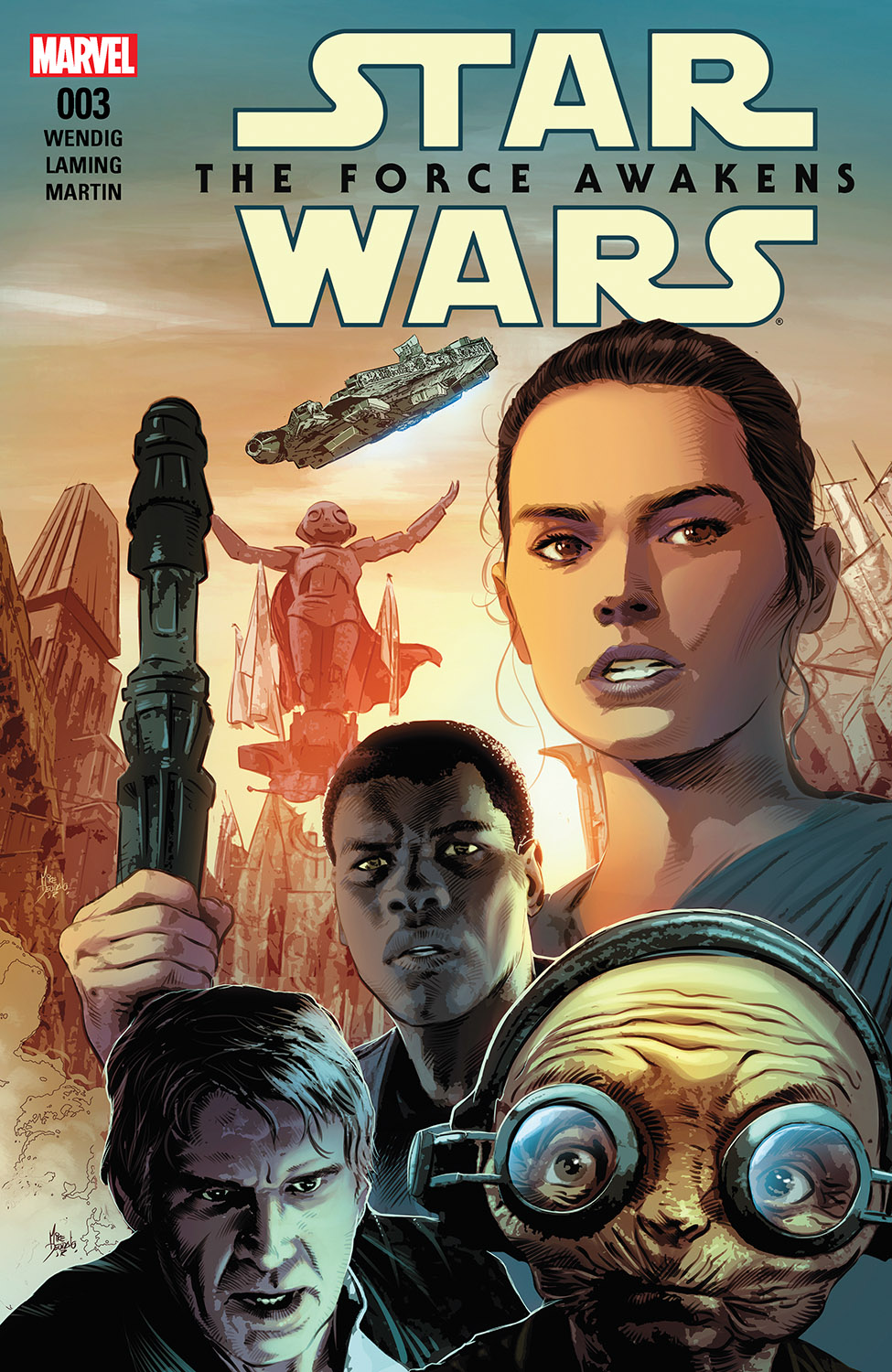 Star Wars: The Force Awakens Adaptation (2016) #3