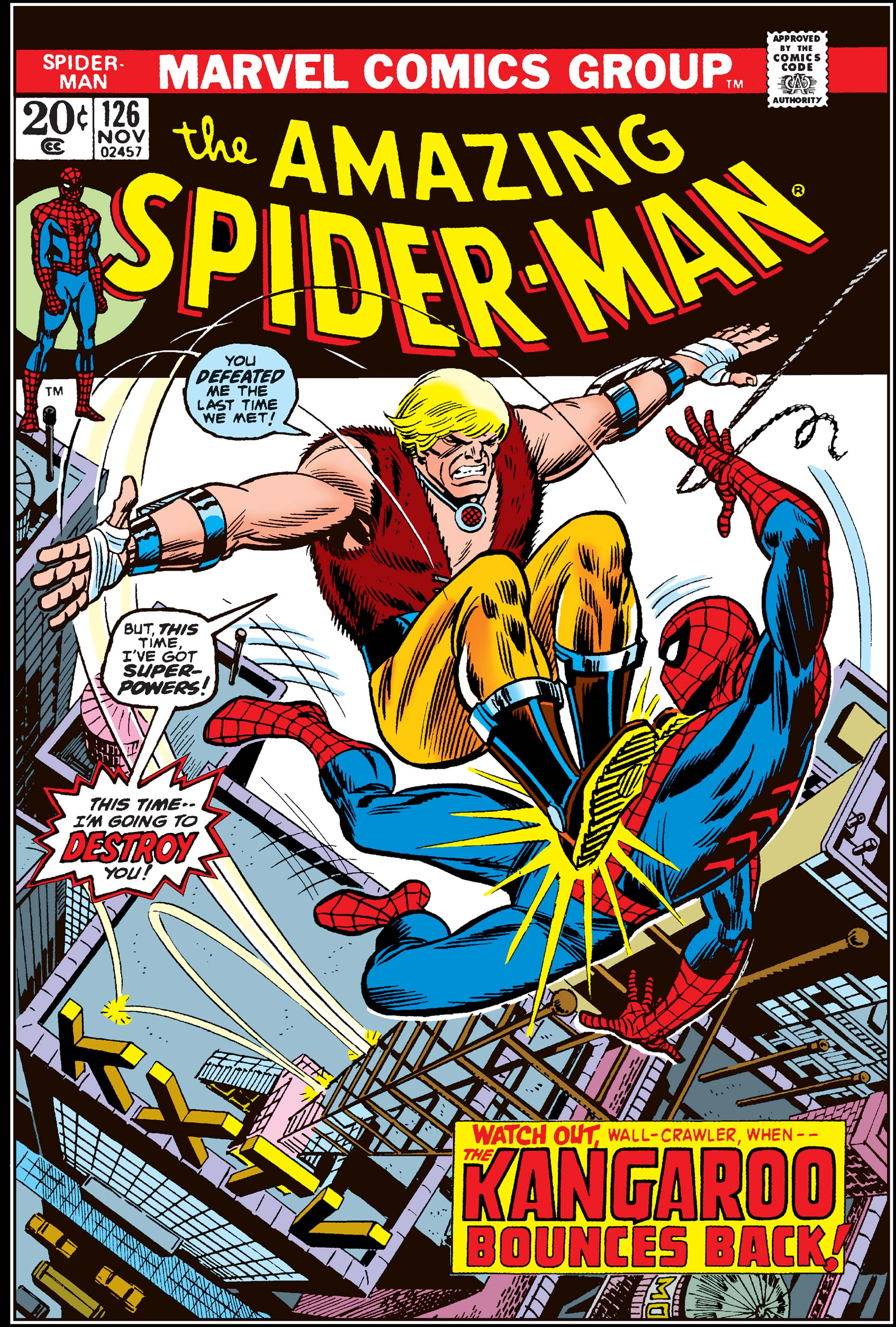 The Amazing Spider-Man (1963) #126