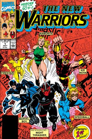 New Warriors (1990) #1