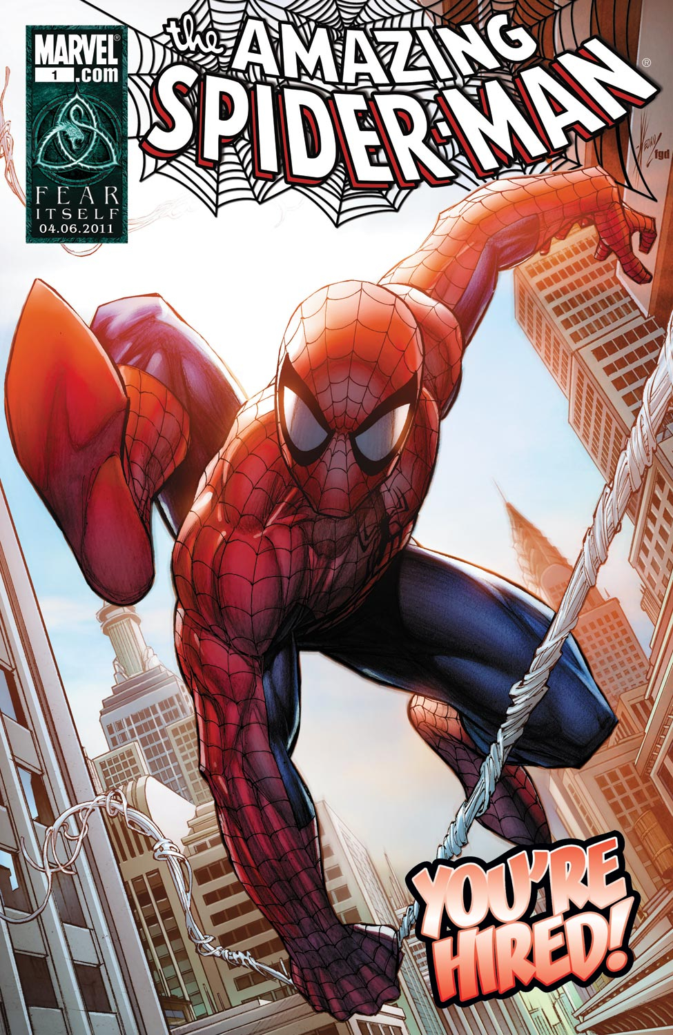 Spider-Man: You're Hired! (2011) #1