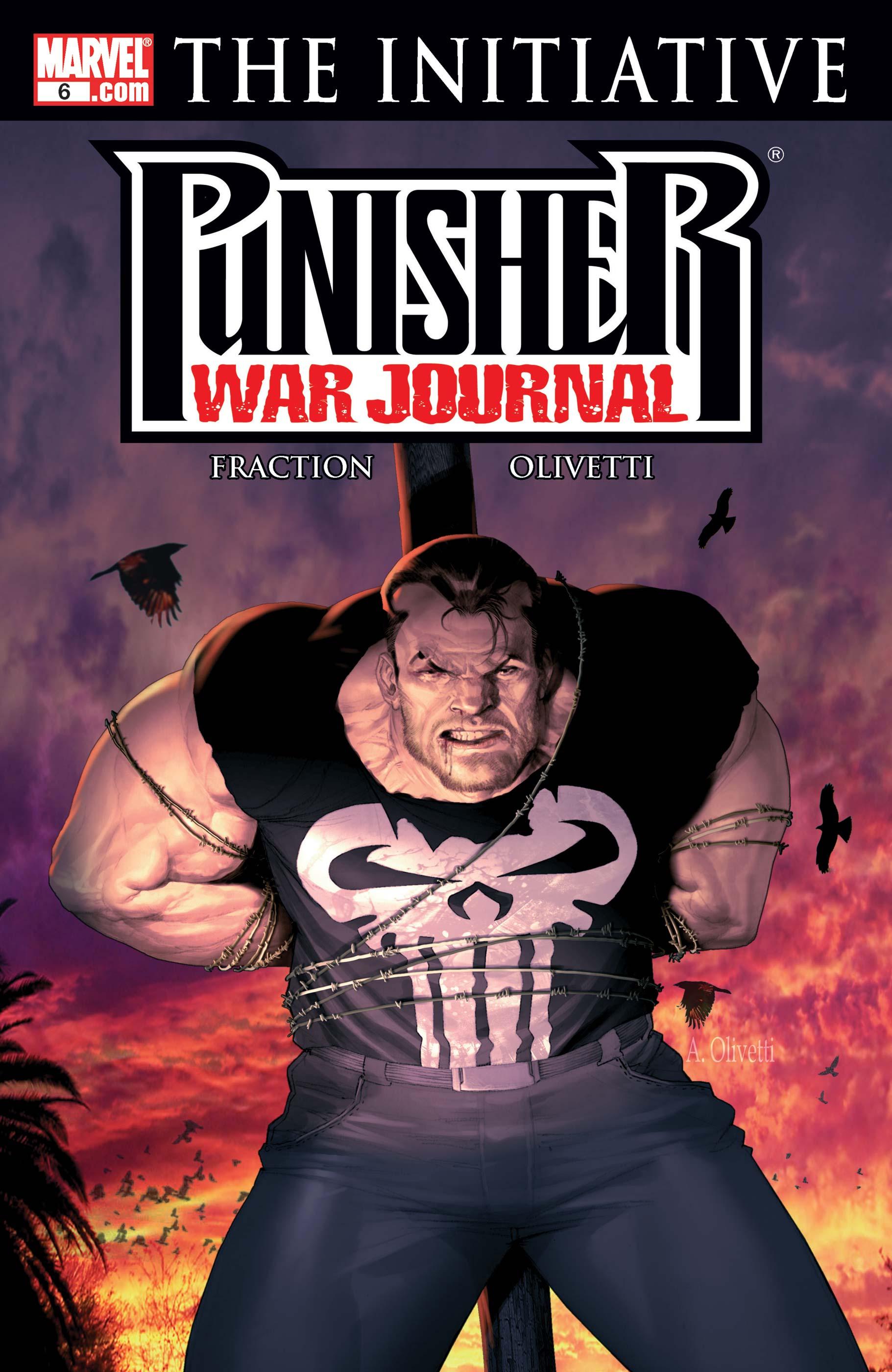 Punisher War Journal (2006) #6