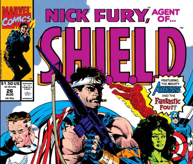 Nick Fury, Agent of Shield (1989) #26