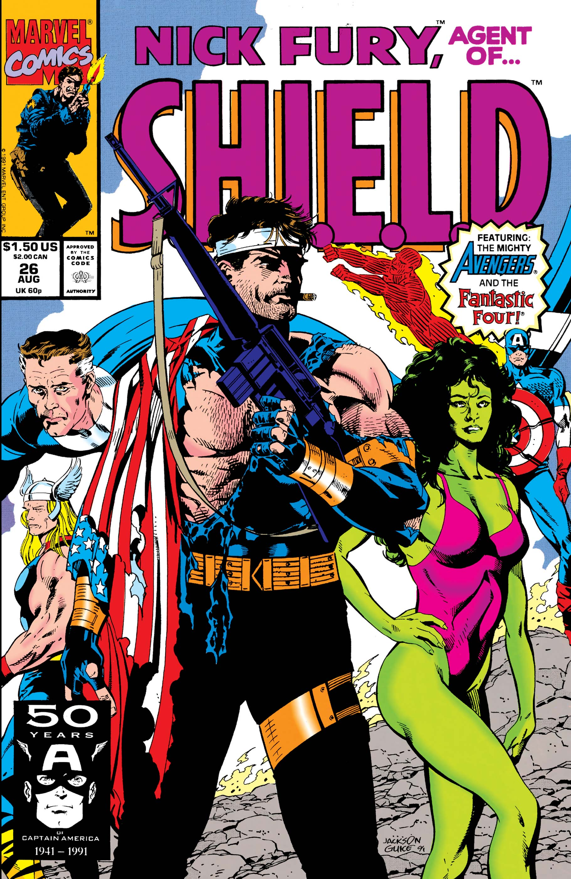 Nick Fury, Agent of S.H.I.E.L.D. (1989) #26