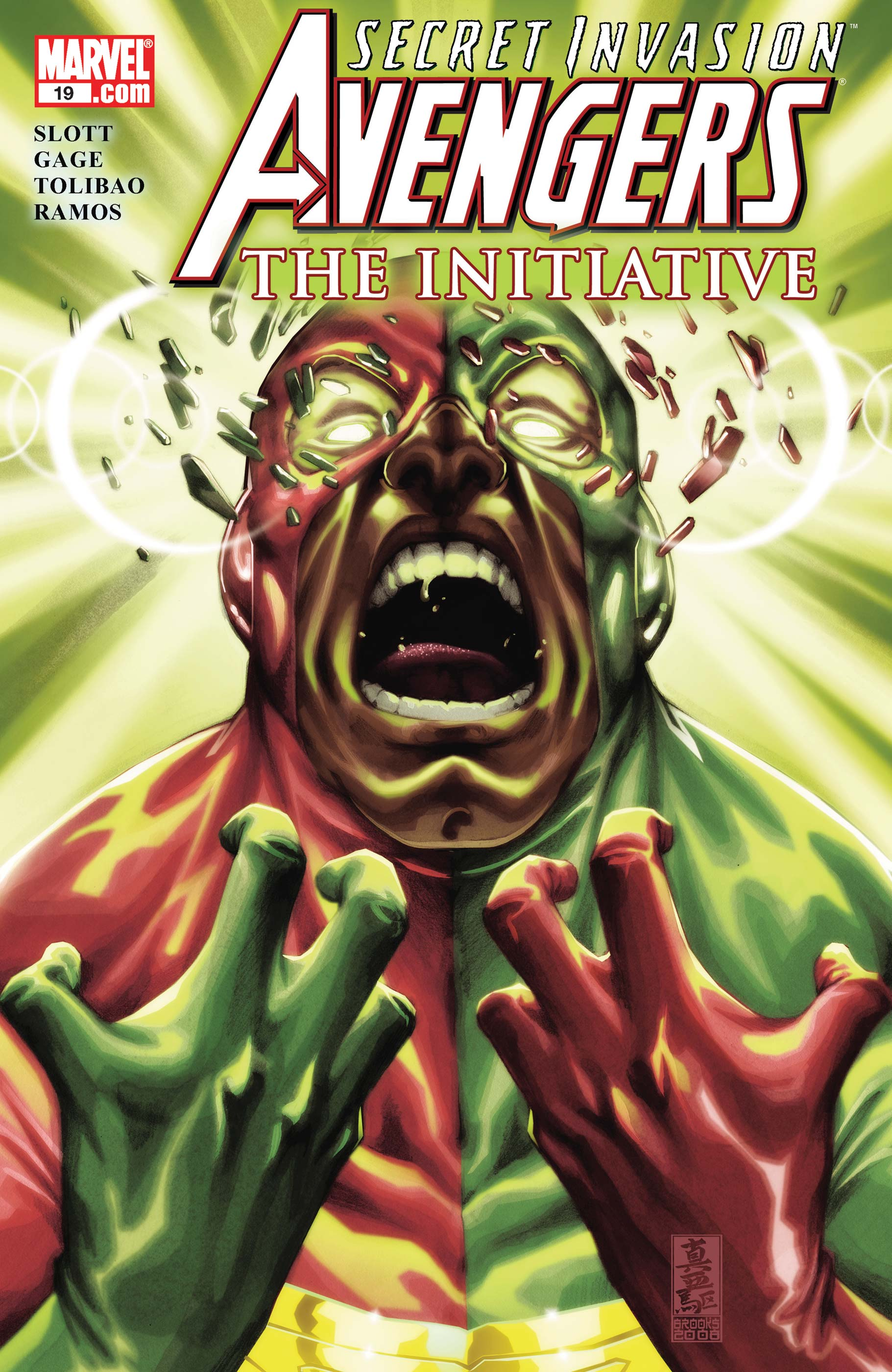 Avengers: The Initiative (2007) #19