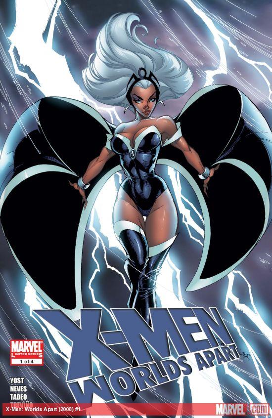 X-Men: Worlds Apart (2008) #1