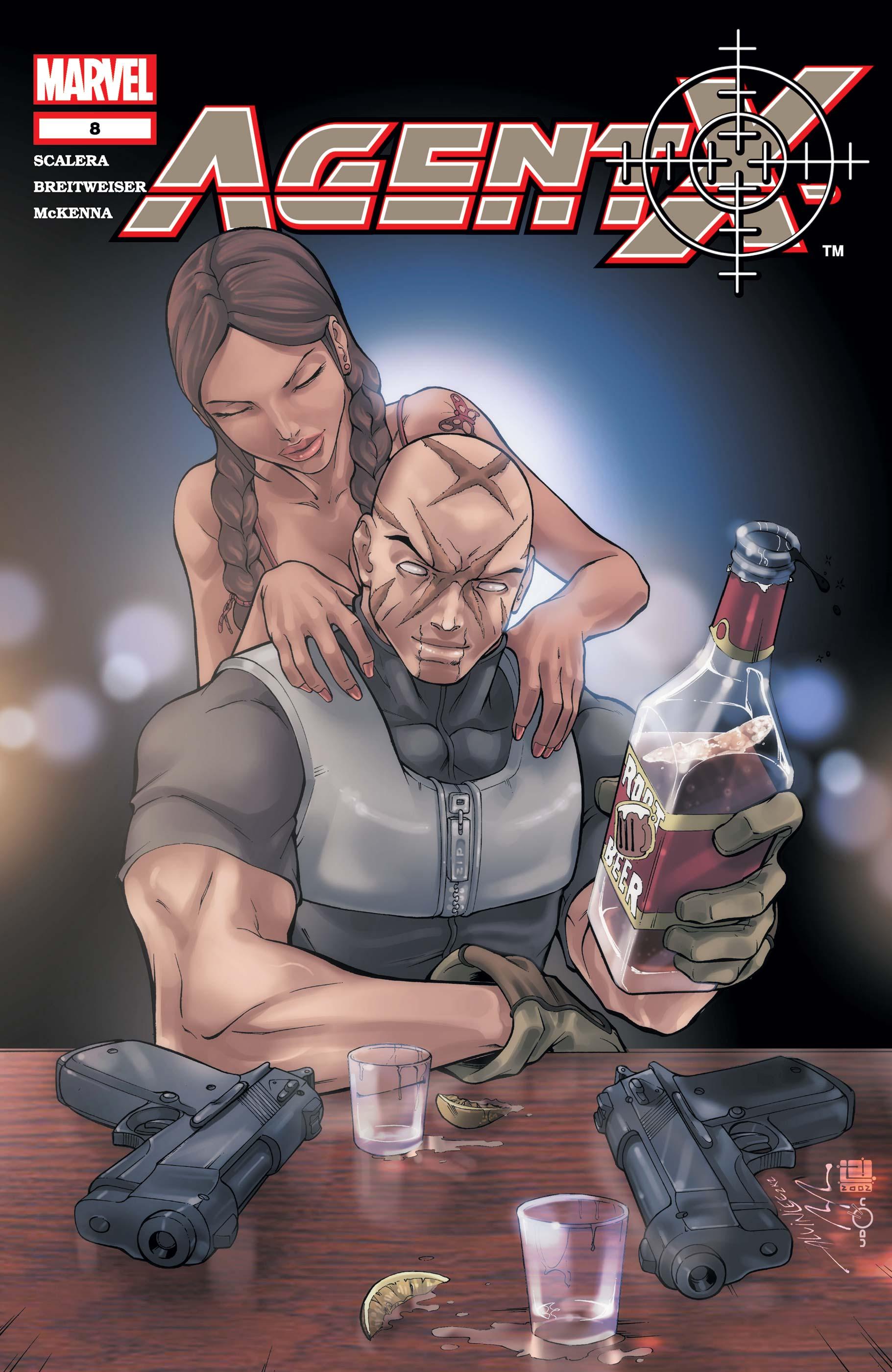 Agent X (2002) #8
