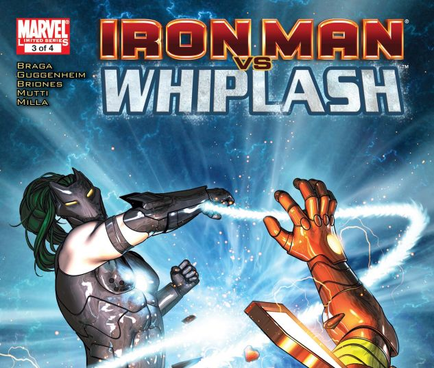 IRON MAN VS. WHIPLASH (2009) #3