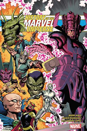 History Of The Marvel Universe Treasury Edition (Trade Paperback)