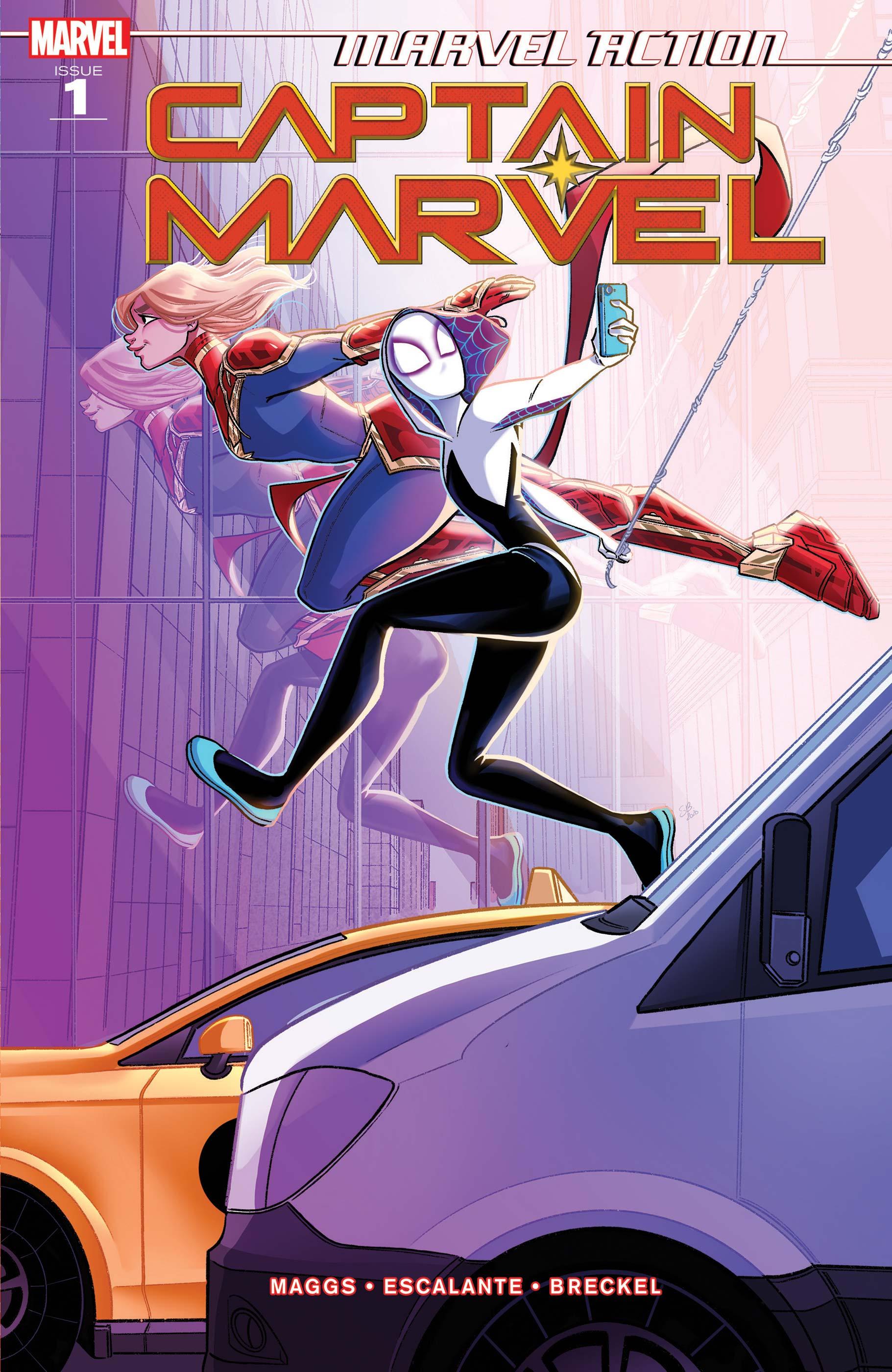 Marvel Action Captain Marvel (2021) #1