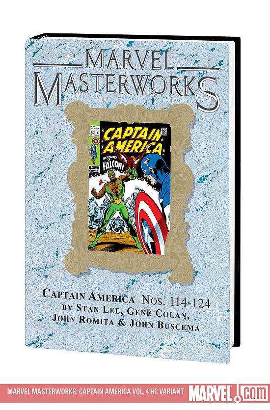 MARVEL MASTERWORKS: CAPTAIN AMERICA VOL. 4 HC (Hardcover)
