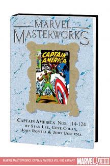 Marvel Masterworks: Captain America Vol. 4 (Hardcover)