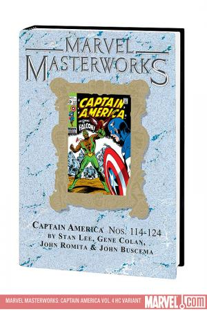 Marvel Masterworks: Captain America Vol. 4 (2008)