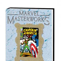 MARVEL MASTERWORKS: CAPTAIN AMERICA VOL. 4 HC