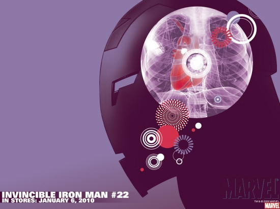 Invincible Iron Man (2008) #22 Wallpaper