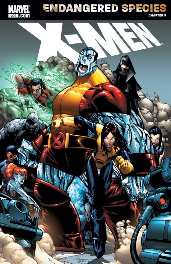 X-Men (2004) #202