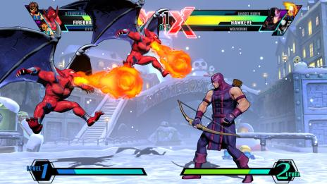 Ultimate Marvel vs. Capcom 3 Gameplay Video 1