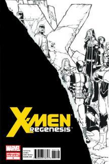 X-Men: Regenesis (2011) #1 (2nd Printing Variant a)