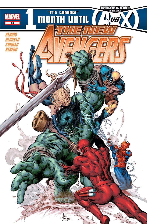 New Avengers (2010) #23