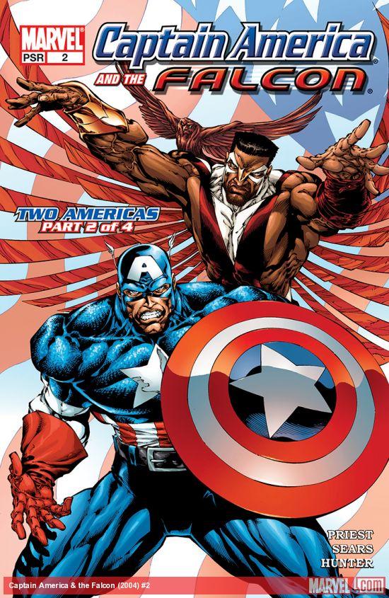 Captain America & the Falcon (2004) #2