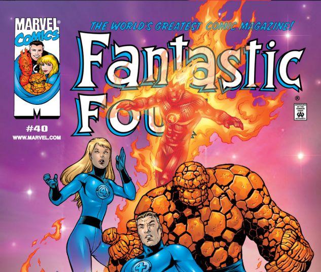 Fantastic Four (1998) #40 Cover
