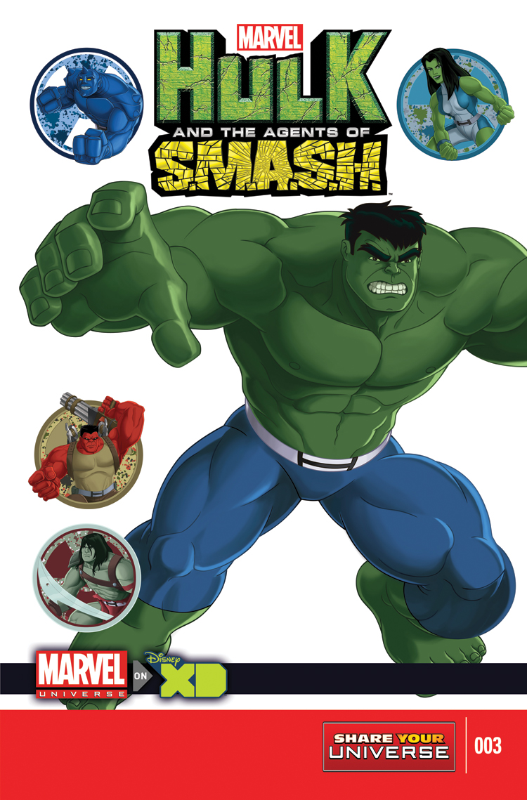Marvel Universe Hulk: Agents of S.M.A.S.H. (2013) #3