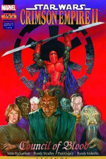 Star Wars: Crimson Empire Ii - Council Of Blood #1