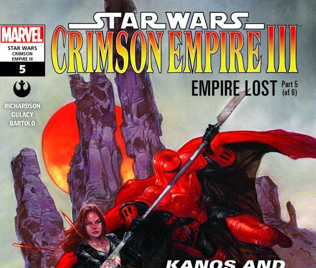 Star Wars: Crimson Empire III - Empire Lost (2011) #5