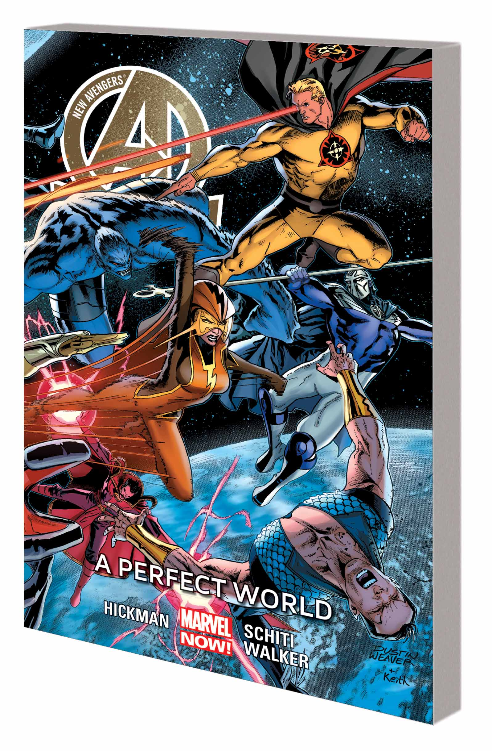 NEW AVENGERS VOL. 4: A PERFECT WORLD (Trade Paperback)