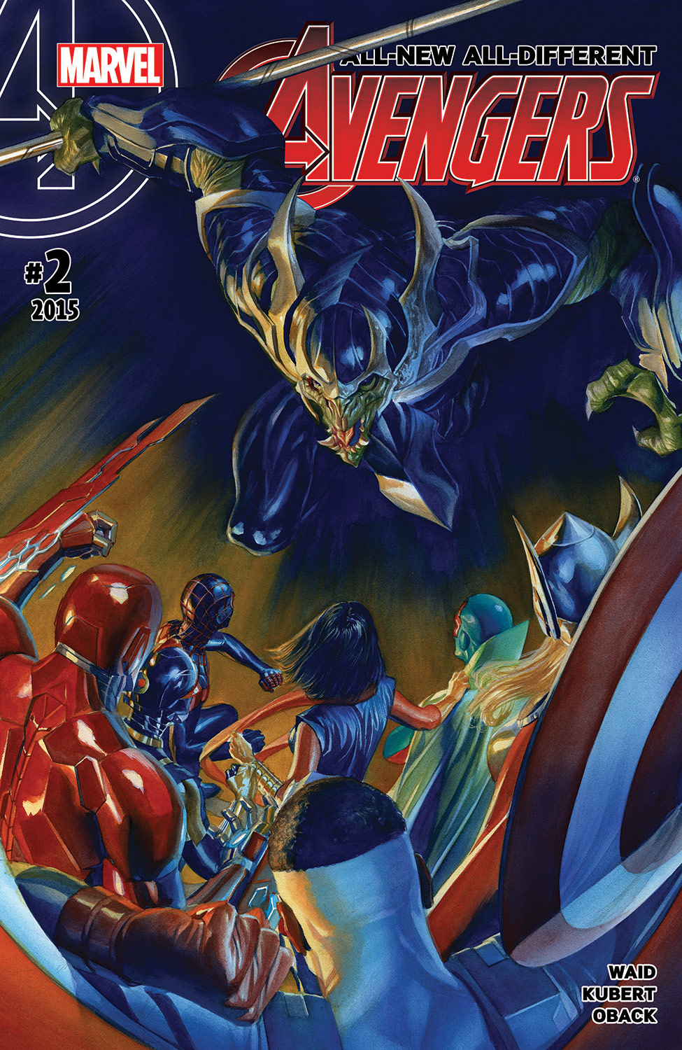 All-New, All-Different Avengers (2015) #2