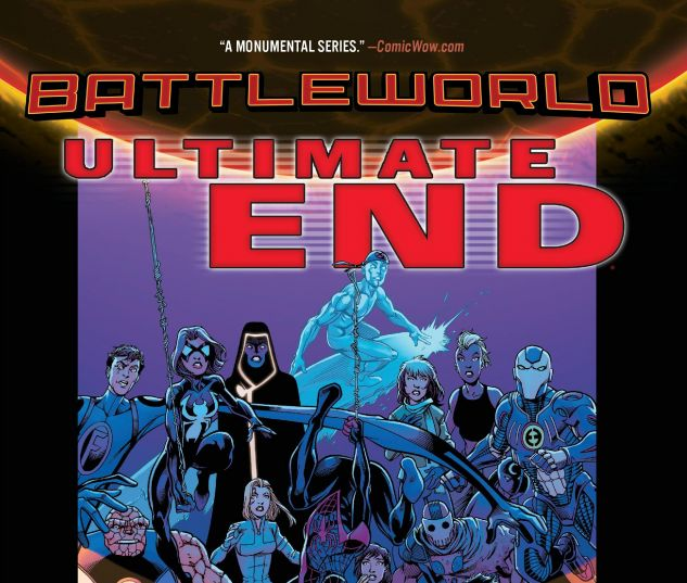 cover from Ultimate End TPB (2015)