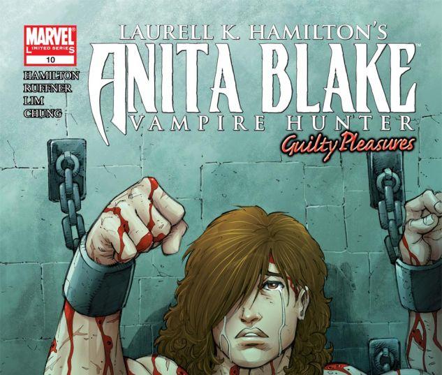 ANITA BLAKE, VAMPIRE HUNTER: GUILTY PLEASURES (2006) #10 Cover
