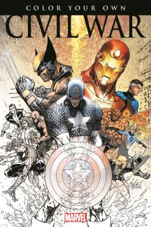 Color Your Own Civil War (Trade Paperback)
