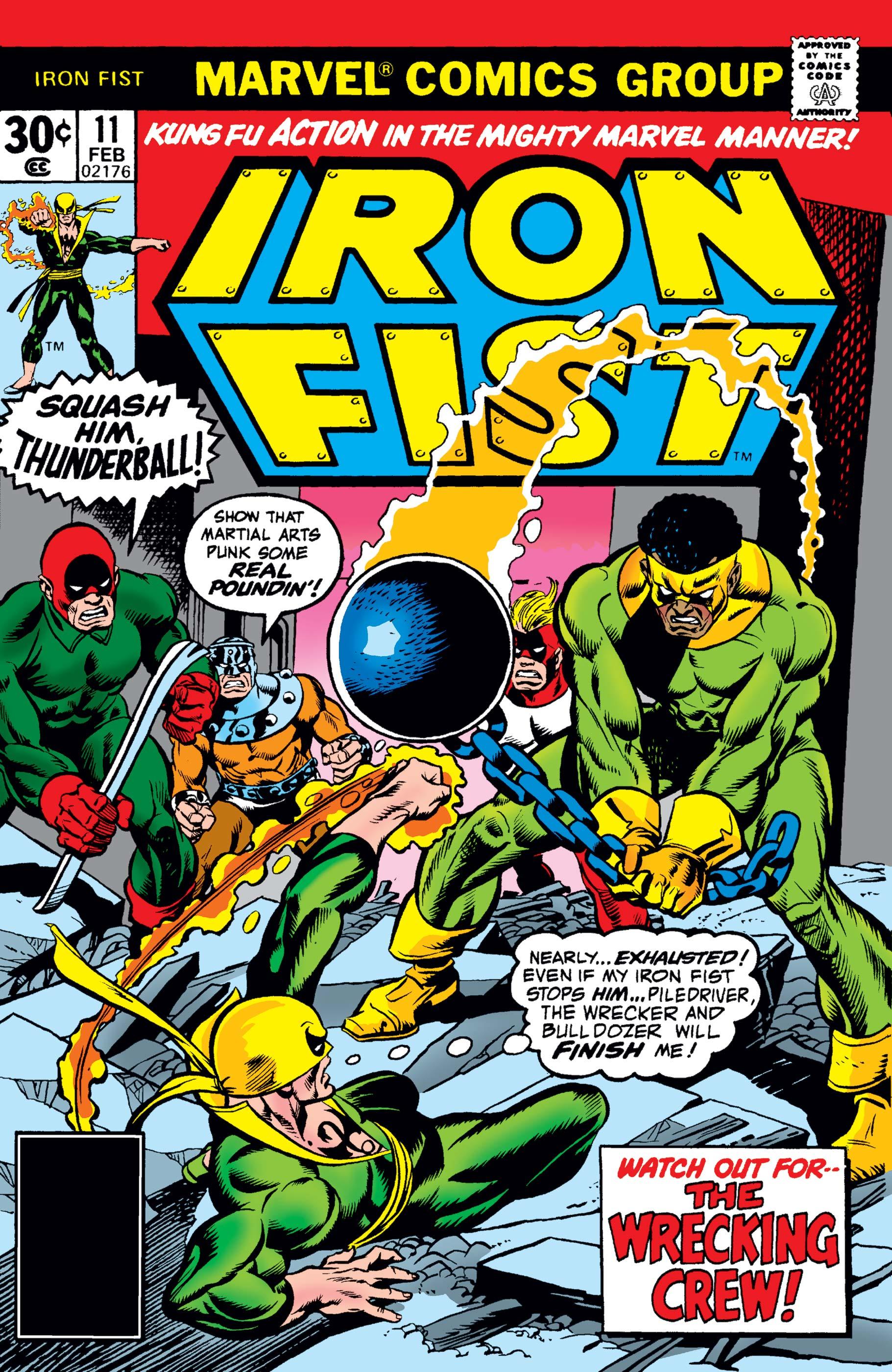 Iron Fist (1975) #11