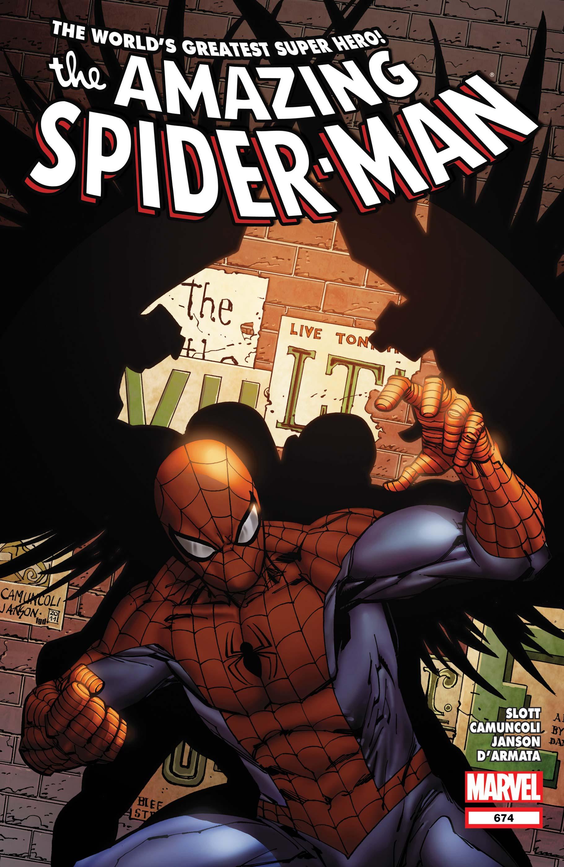 Amazing Spider-Man (1999) #674