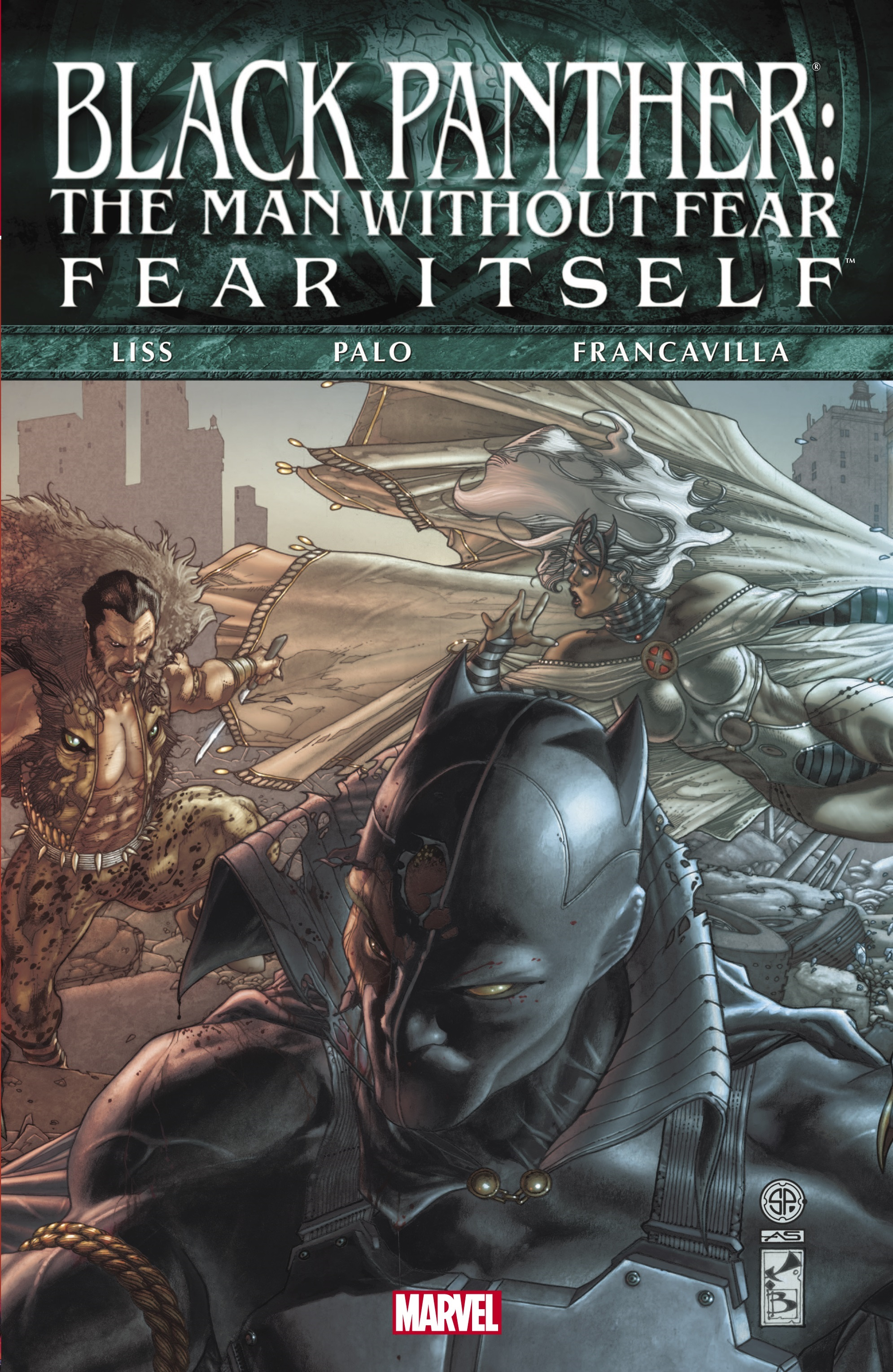 Fear Itself: Black Panther - The Man Without Fear (Hardcover)