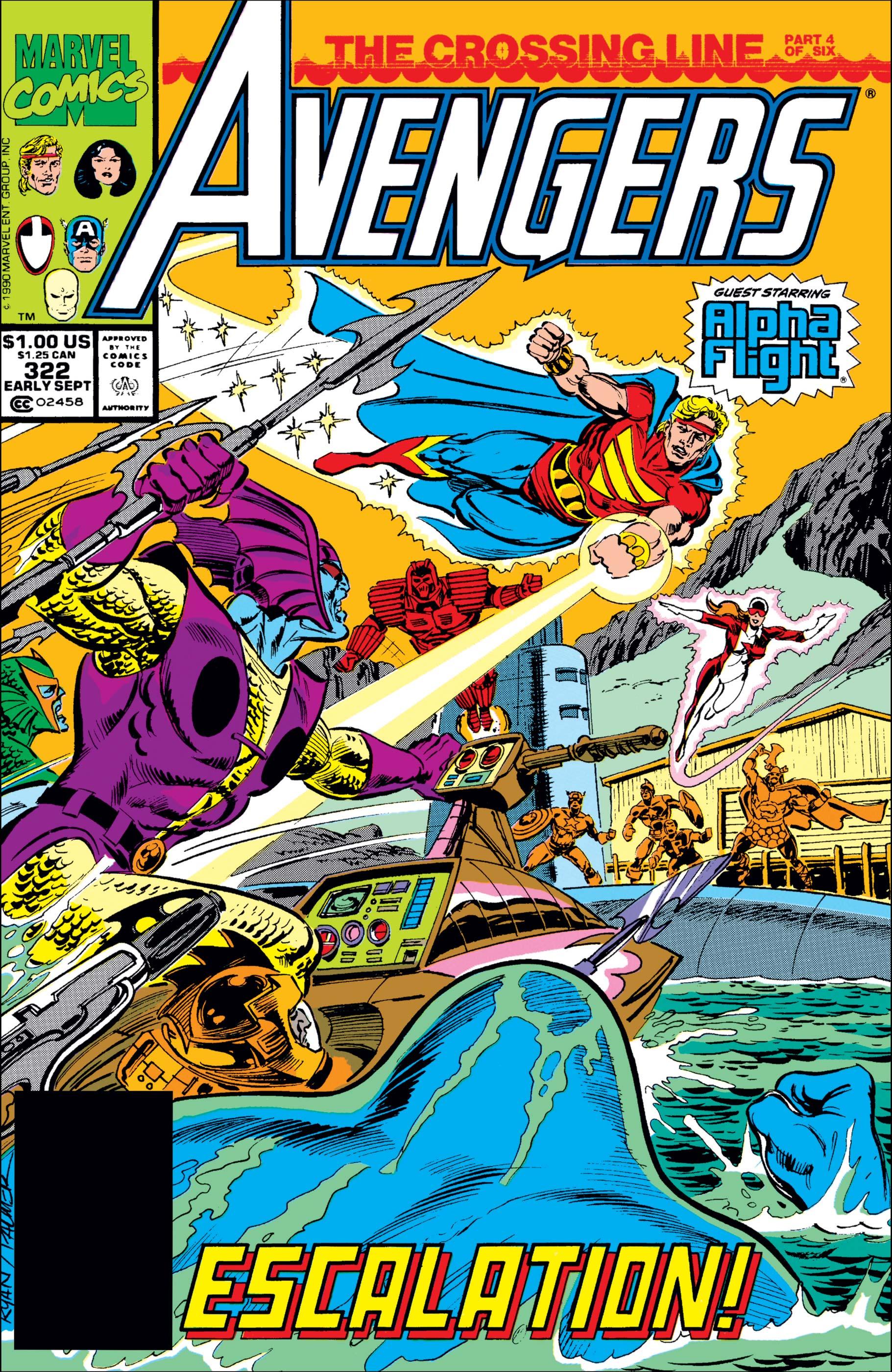 Avengers (1963) #322