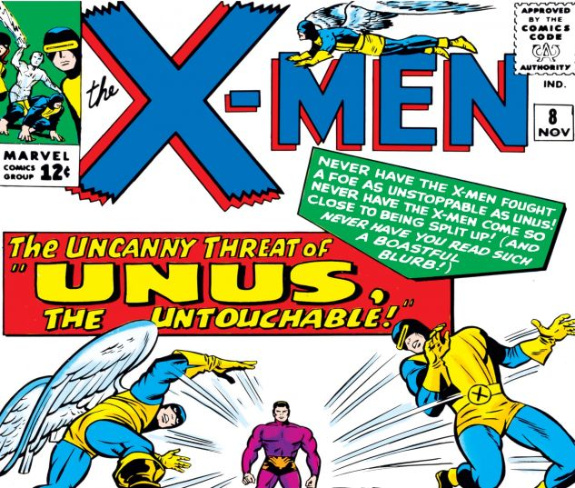 Uncanny X-Men (1963) #8