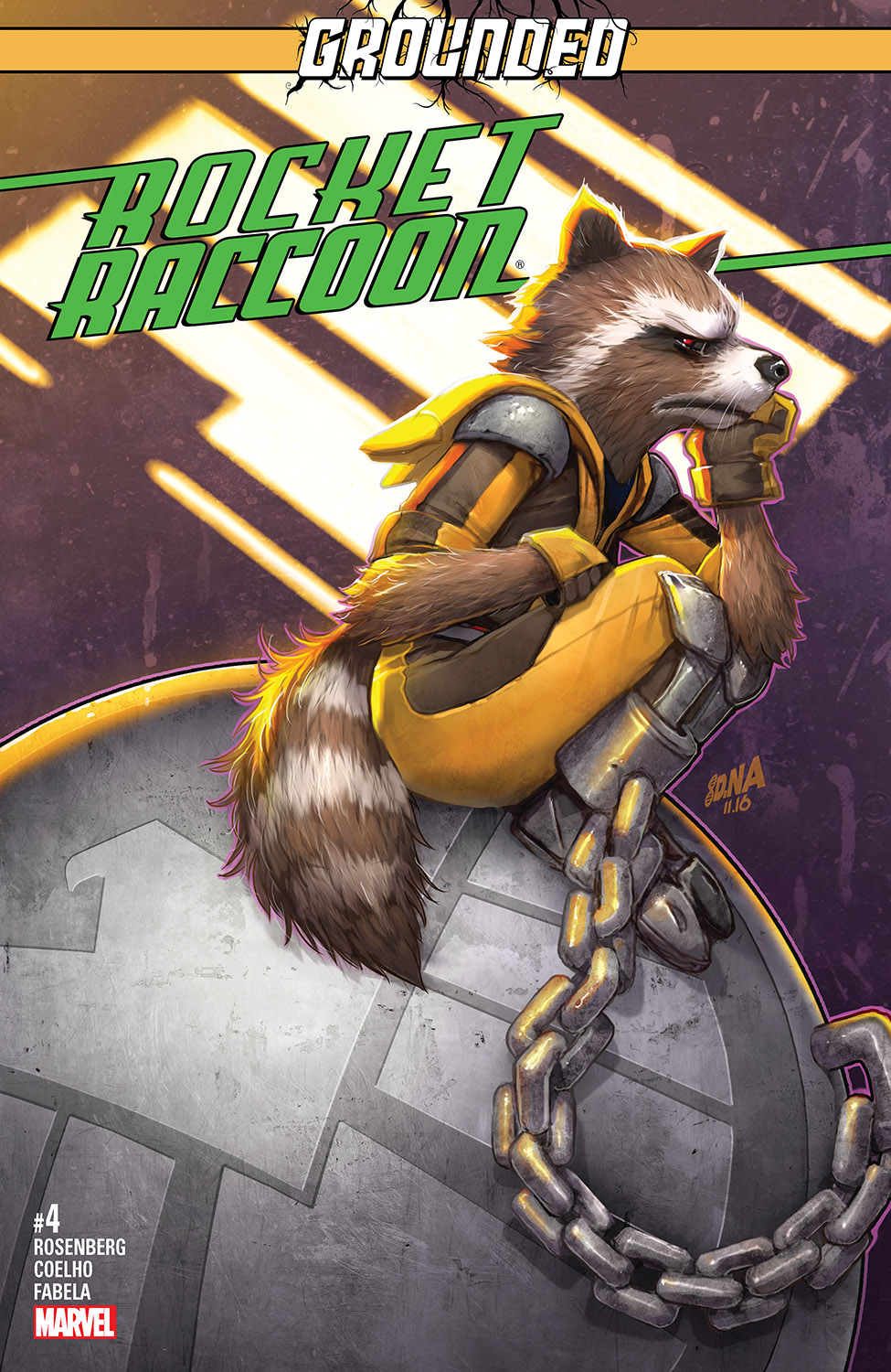 Rocket Raccoon (2016) #4