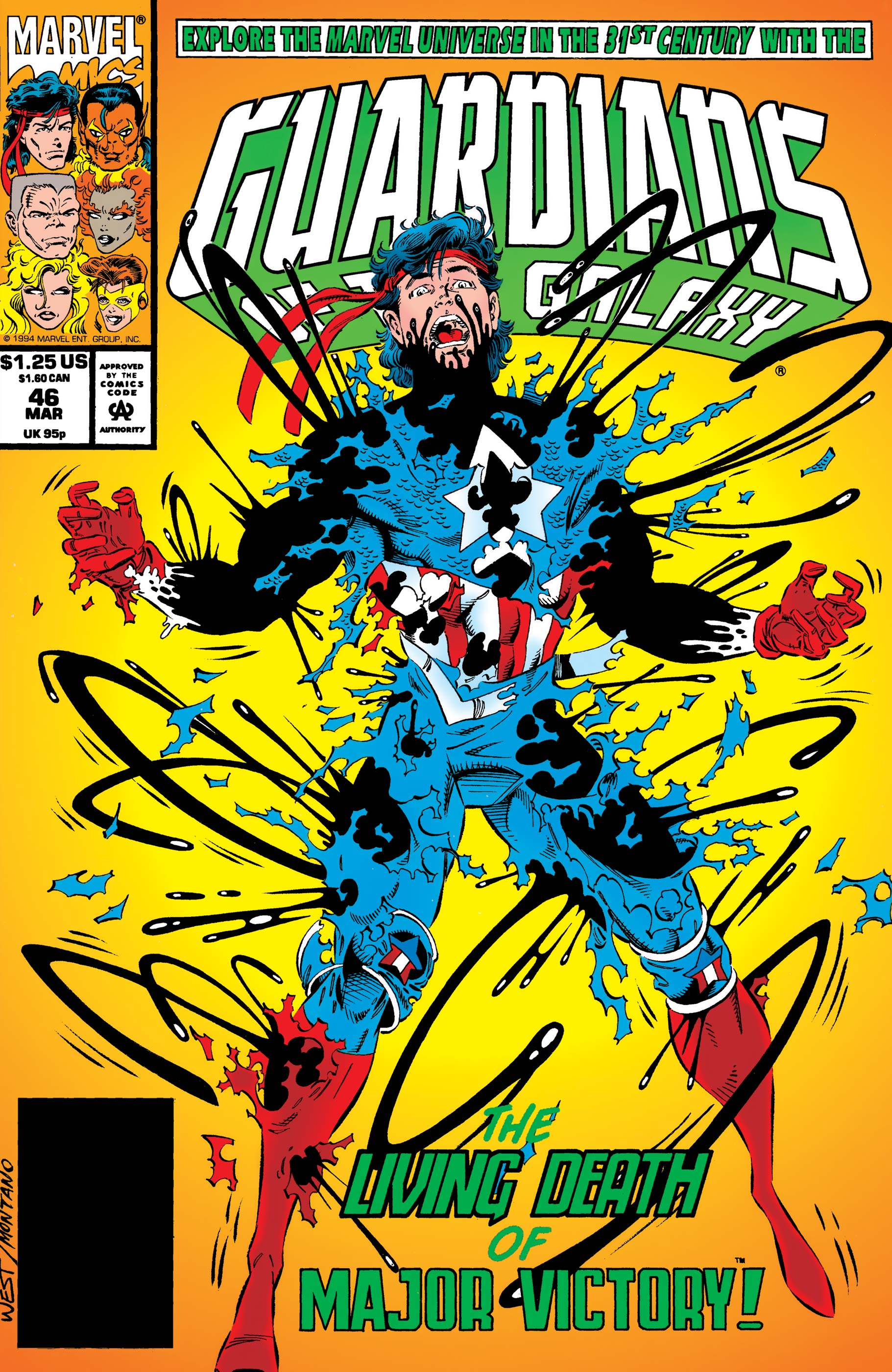 Guardians of the Galaxy (1990) #46