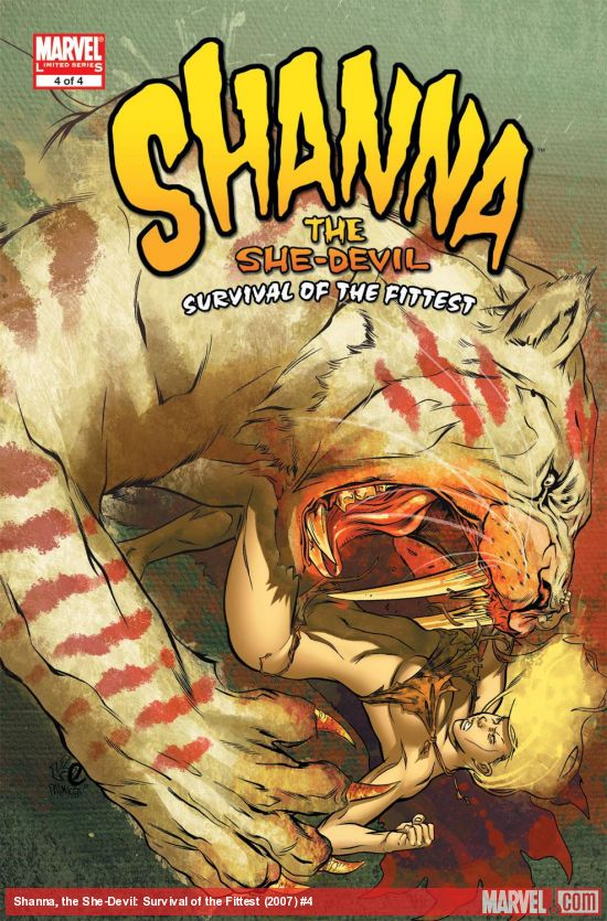 Shanna, the She-Devil: Survival of the Fittest (2007) #4