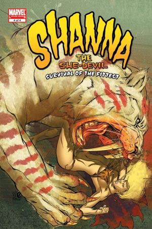Shanna, the She-Devil: Survival of the Fittest #4