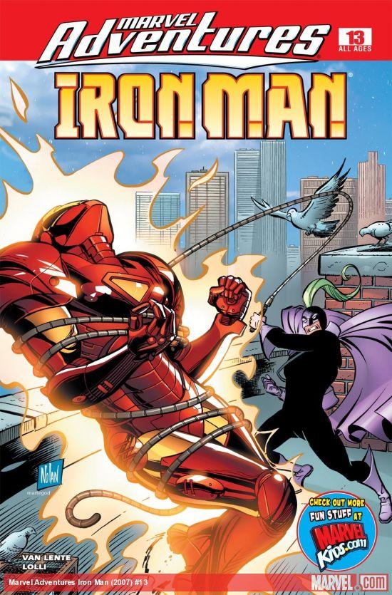 Marvel Adventures Iron Man (2007) #13